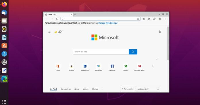 Microsoft Edge for Linux