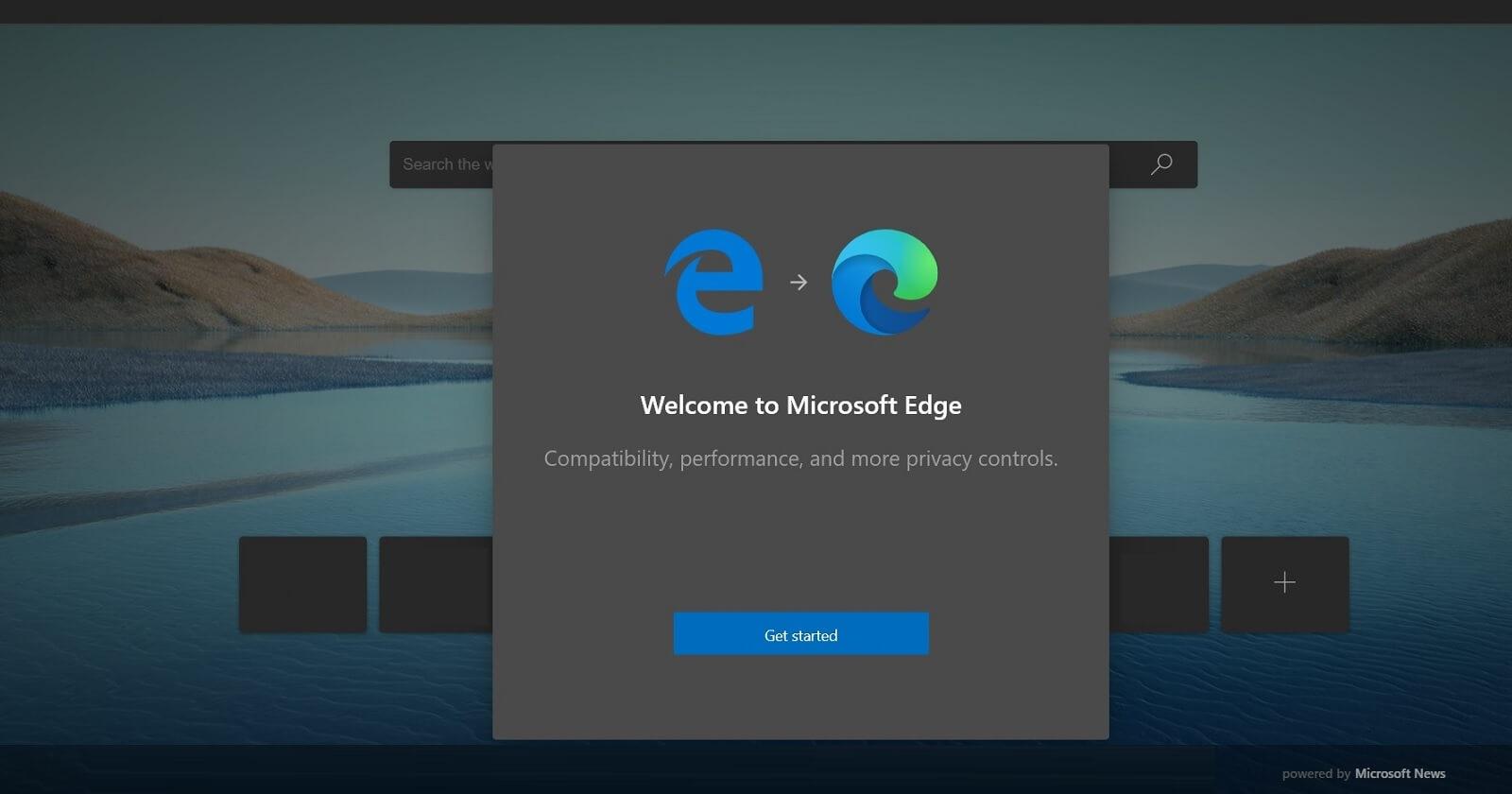 Microsoft Edge migration