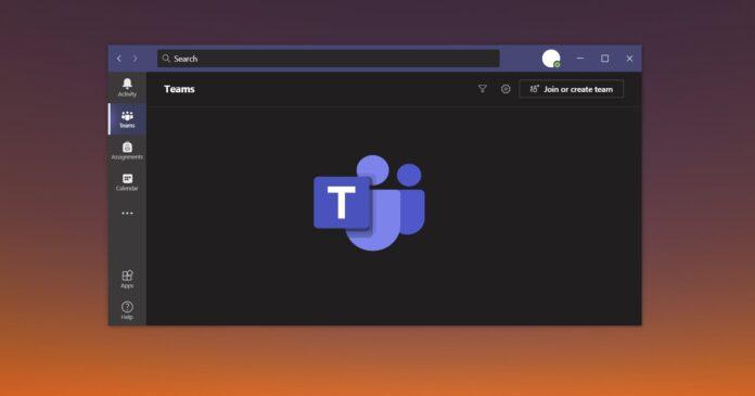 Microsoft Teams share UI