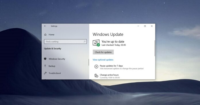 Windows 10 May 2021 Update download