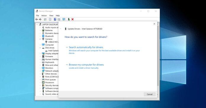 Windows 10 driver upgrade