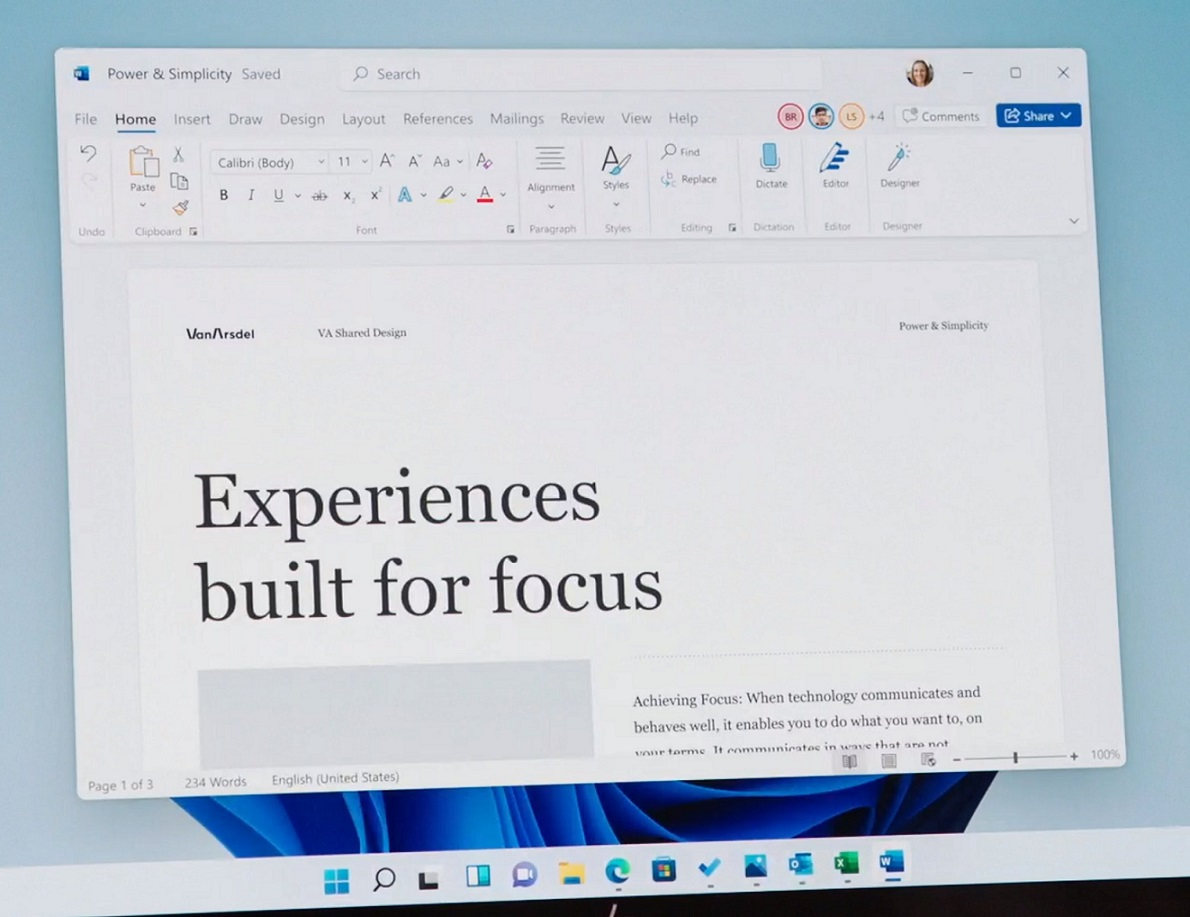 MS Word for Windows 11