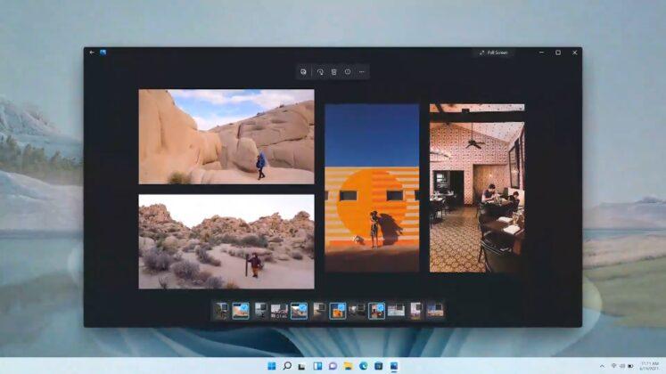 Microsoft Photos app for Windows 11
