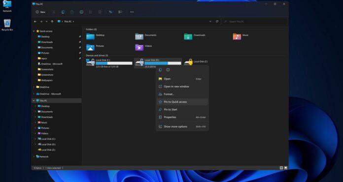 New File Explorer