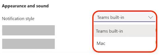 Teams macOS