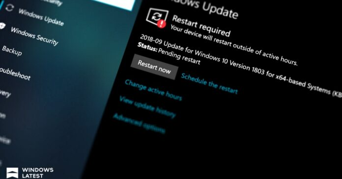 Windows 10 KB5003637