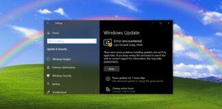 Windows 10 KB5003637 issues