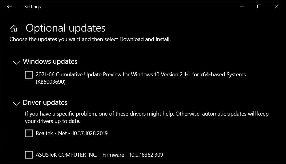 Windows 10 KB5003690 update