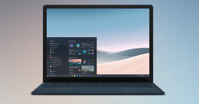 Windows 10 modern interface