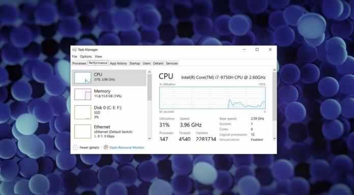 Windows 10 performance