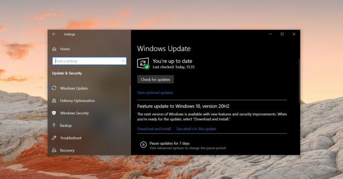 Windows 10 reliability update