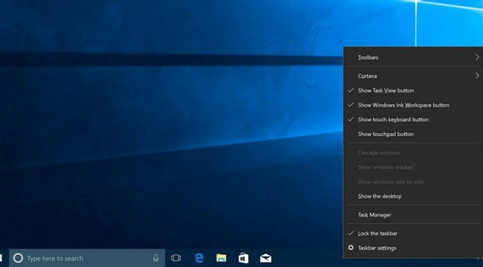 Windows 10 taskbar blurry texts bug