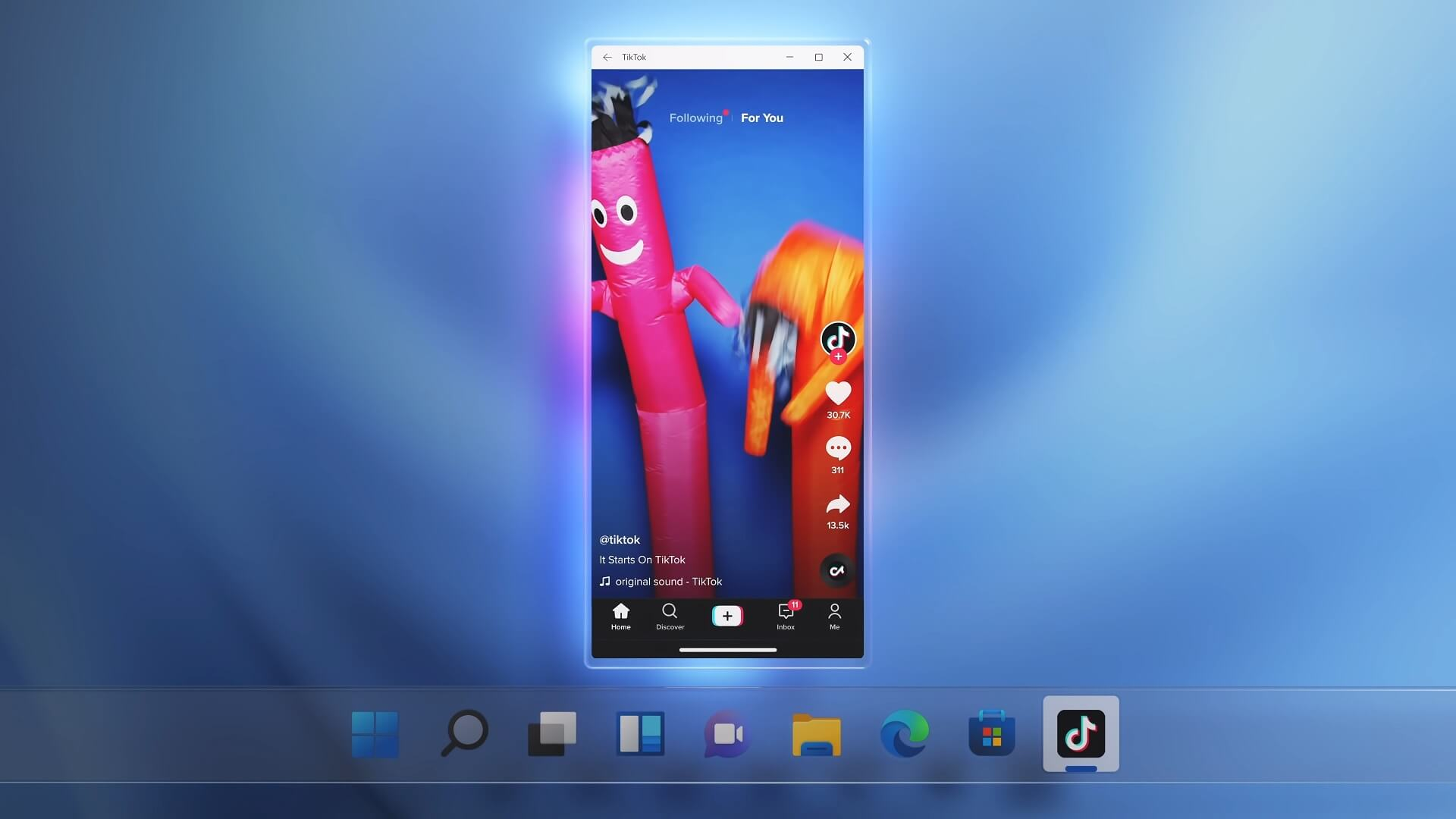 Microsoft: You can sideload Android APKs on Windows 11