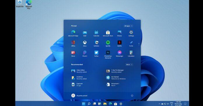 Windows 11 Start Menu revamp