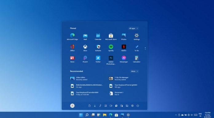 Windows 11 gesture controls