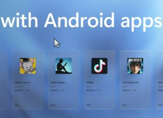 Windows 11 with Android apps