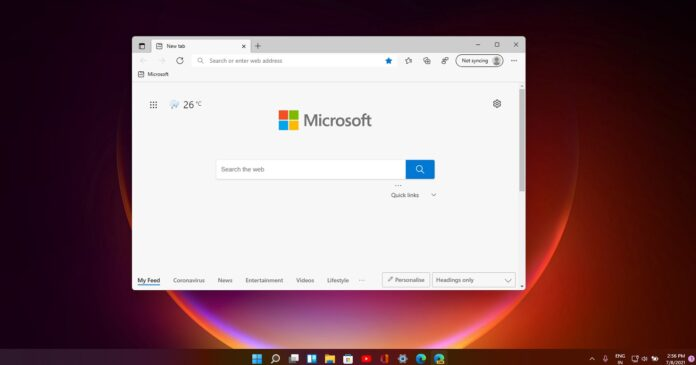 Microsoft Edge for Windows 11