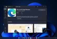 Microsoft Edge for Windows 11 Store