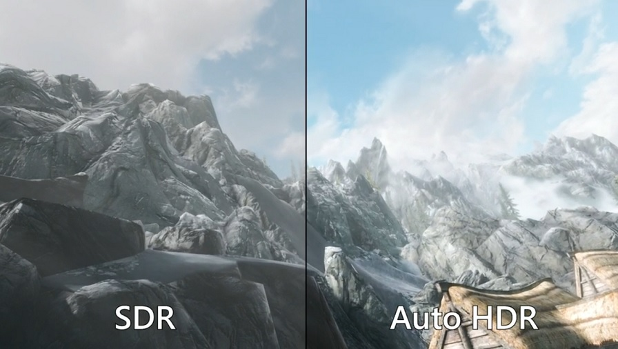 Windows 11 Auto HDR feature