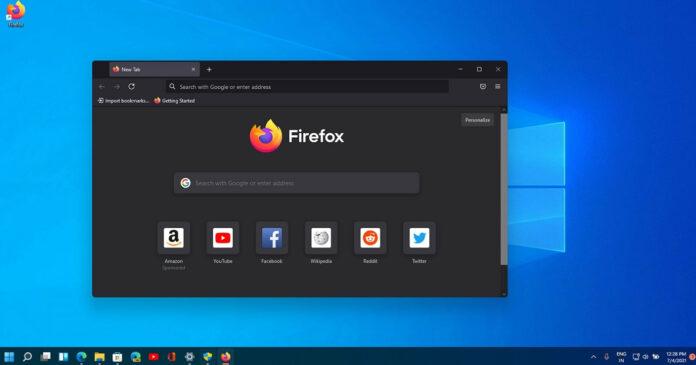 Windows 11 Firefox