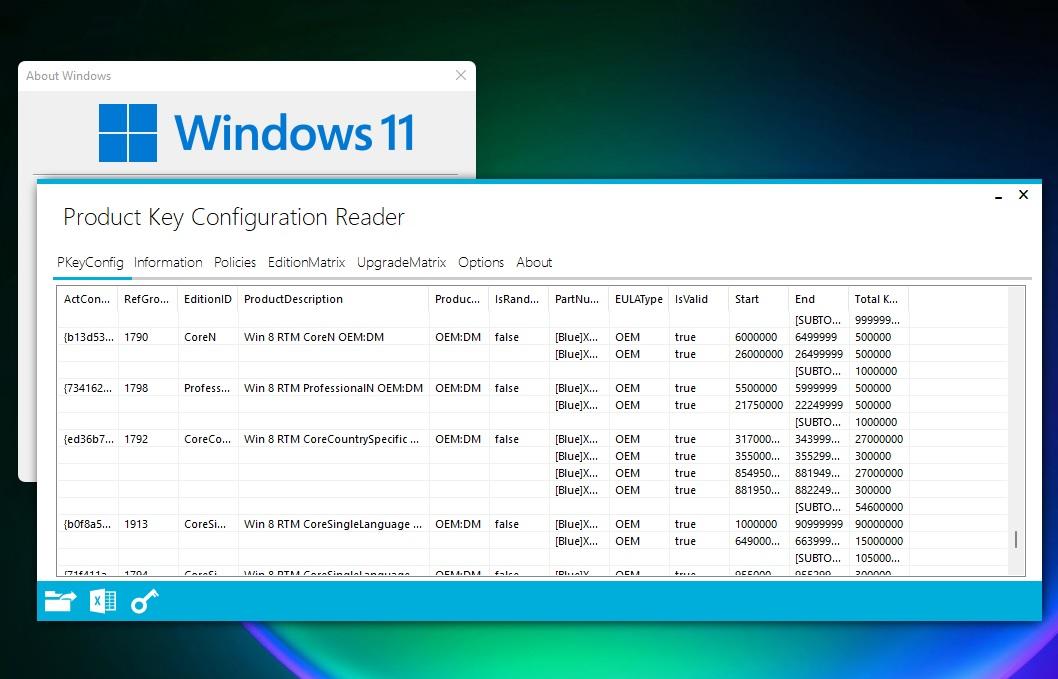 Windows 11 and Windows 7