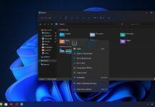 Windows 11 right click menu update