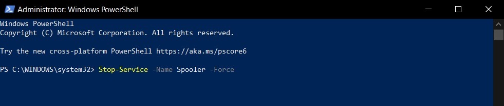 Windows PrintNightmare bug