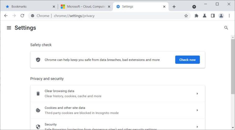 Chrome WebUI update