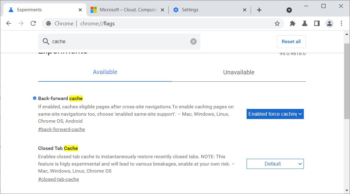 Chrome speed update