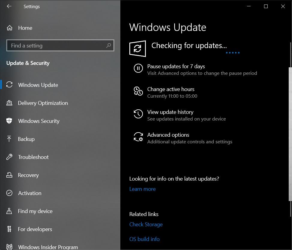 KB5005103 update