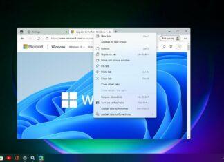 Microsoft Edge scrollbar for Windows 11