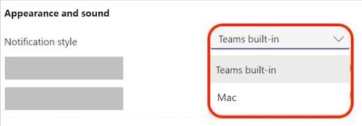 Teams macOS native