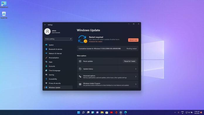Windows 11 Build 22000.120