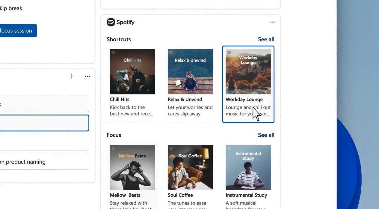 Windows 11 Spotify integration
