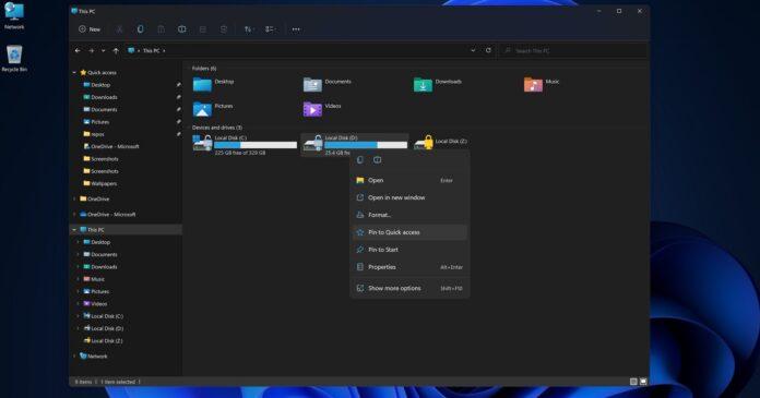 Windows 11 new design performance