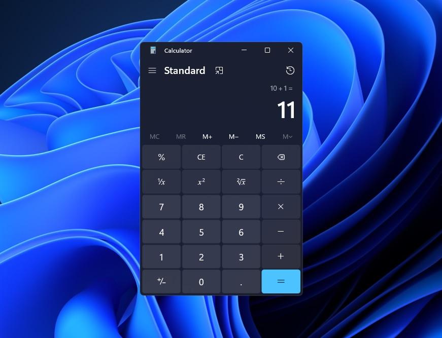 Windows Calculator refresh