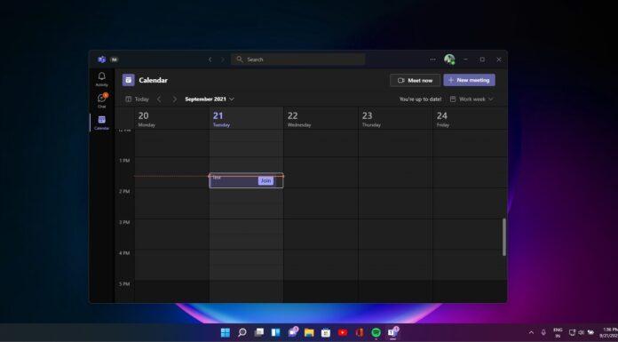 Microsoft Teams for Windows 11