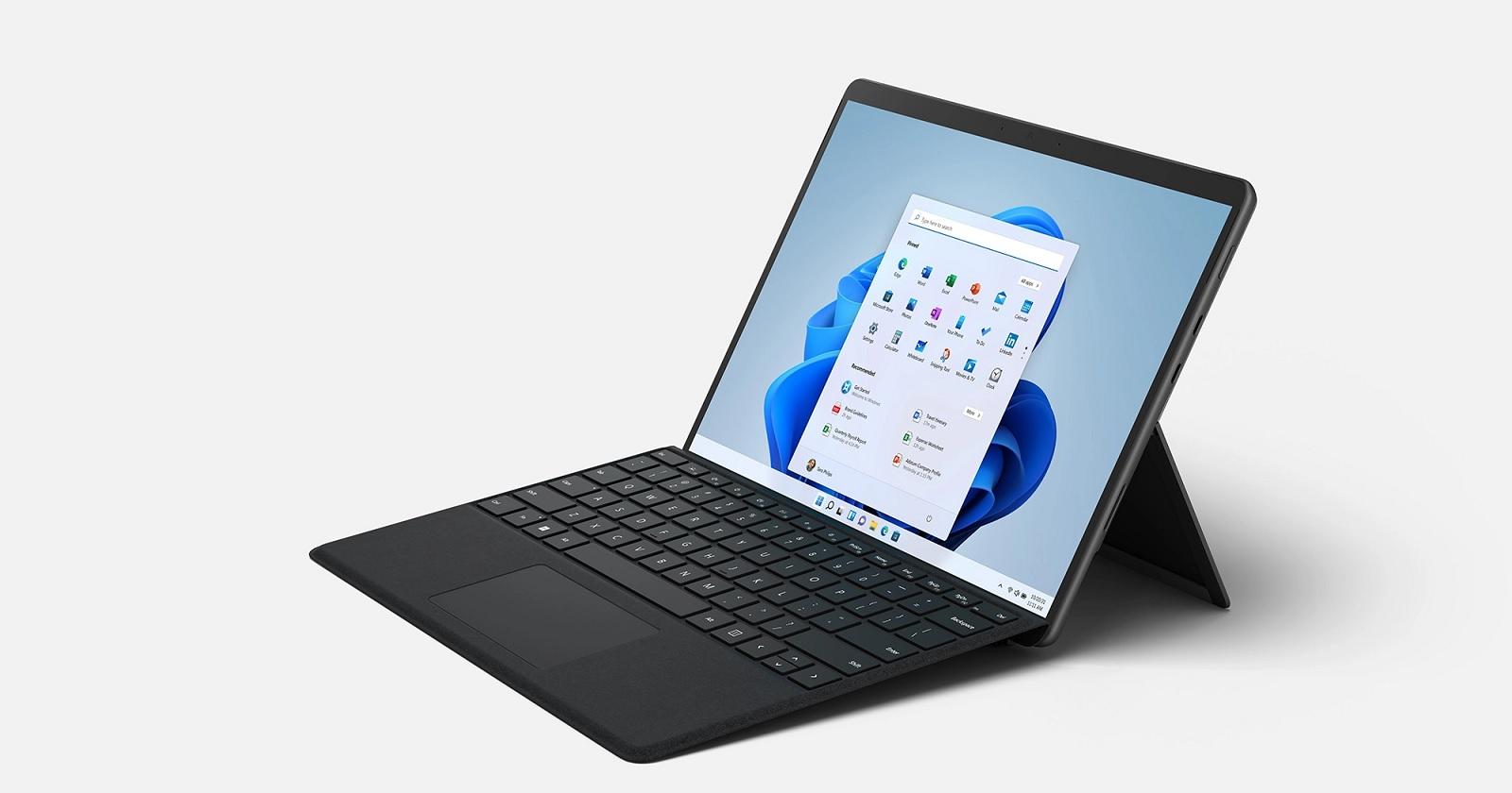 Surface Pro 8 hinge