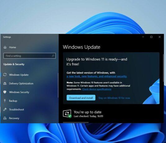 Windows 10 KB5005463