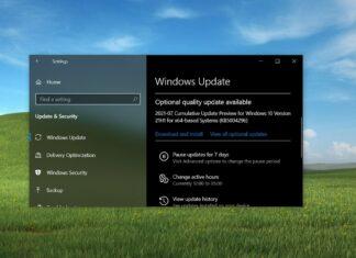 Windows 10 updates expire