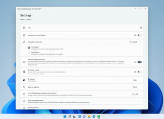 Windows 11 Android support rolling