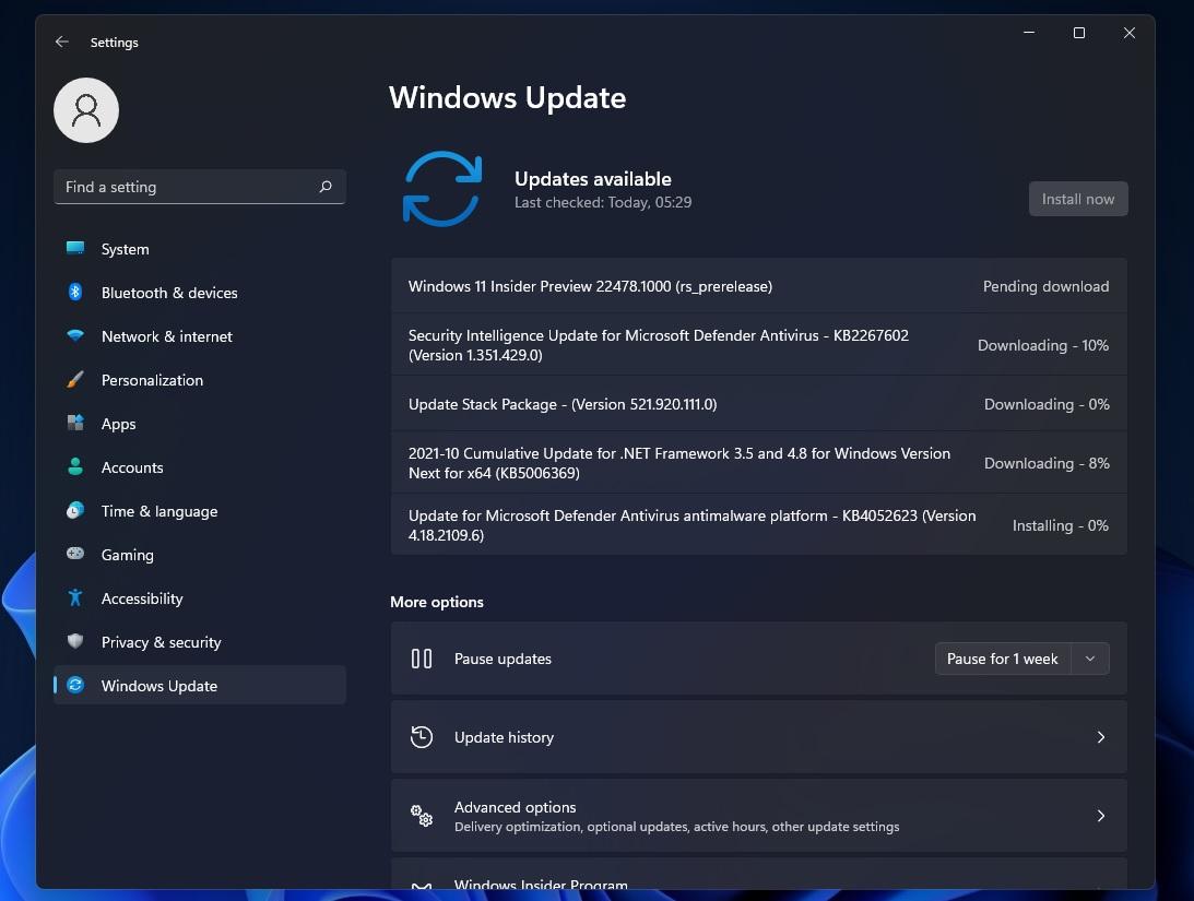 Windows 11 Build 22478