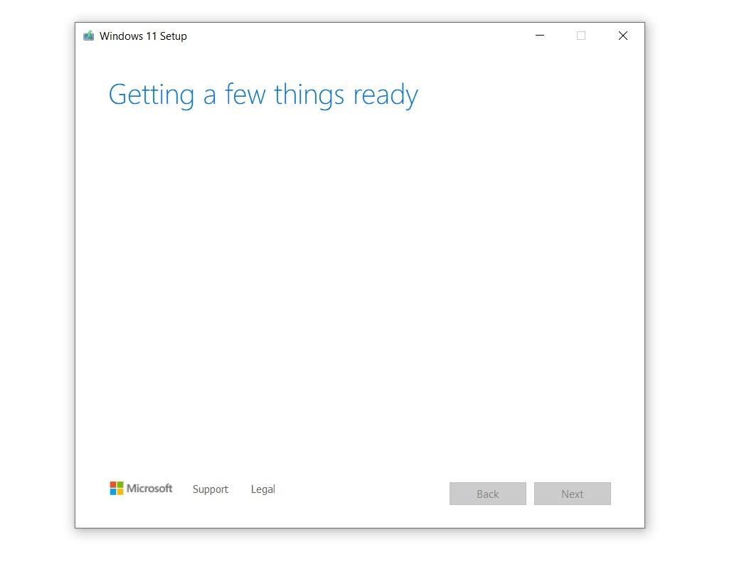 Windows 11 ISO gerar