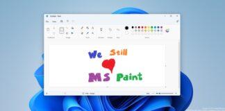 Windows 11 Paint app