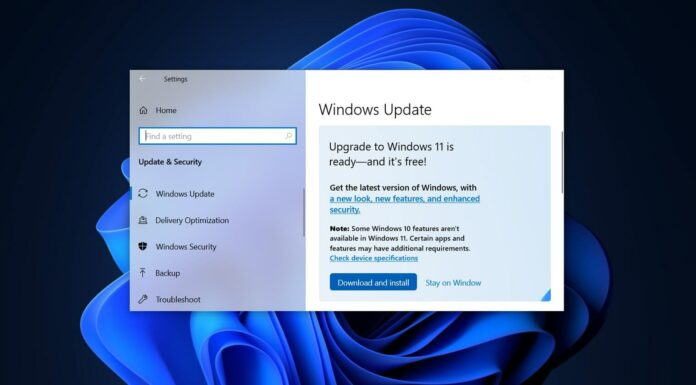 Windows 11 upgrade rolling out