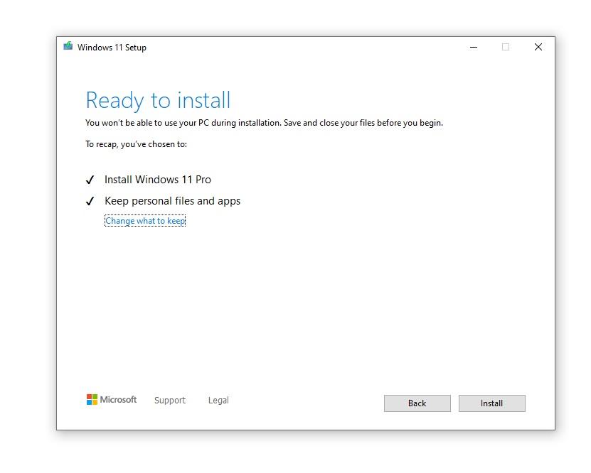 Windows disk image