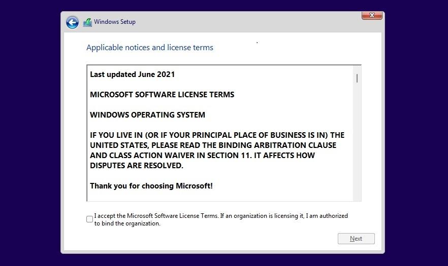 Windows licensing